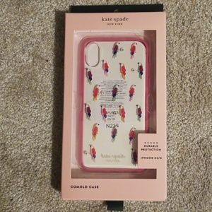 Kate Spade xs/x iphone case unopened